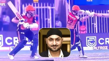 Harbhajan Singh Reacts After Umpire Misses 'Waist High No Ball' in RCB vs SRH IPL 2020 Match, Takes Sly Dig at Poor Umpiring (See Post)